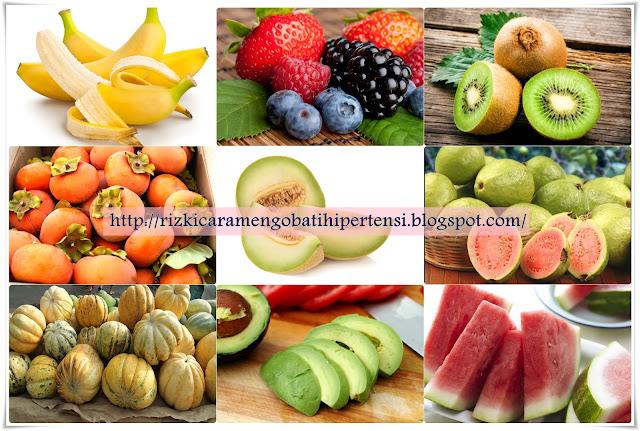 Buah Penurun Tekanan Darah Tinggi (Hipertensi)
