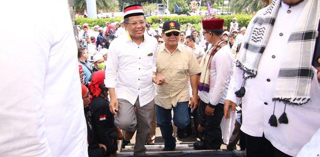 Prabowo: Pemerintahan Jokowi Bantu Rohingya Itu Pencitraan