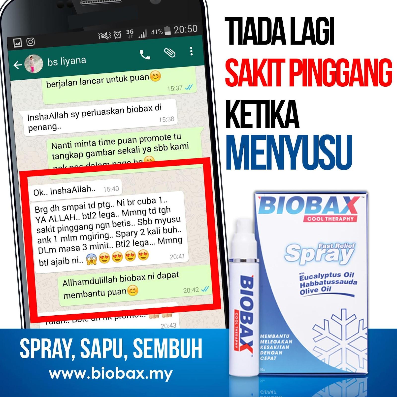 biobax spray cool theraphy sakit lutut