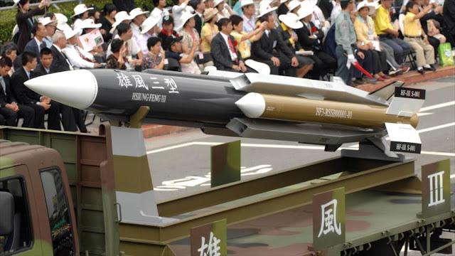 China advierte de que las armas de EEUU no salvarán a Taiwán