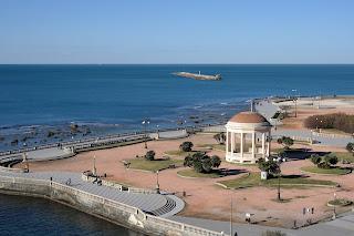 Livorno's elegant seafront promenade, Terrazza Mascagni