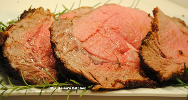 Rosemary Prime Rib Roast at Miz Helen's Country Cottage