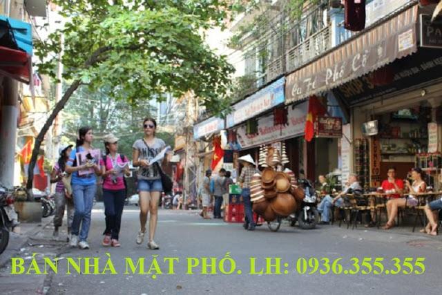 Bán nhà mặt phố Hàng Giầy, Hà Nội