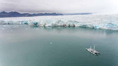 Energy Observer a rejoint le Spitzberg en Arctique