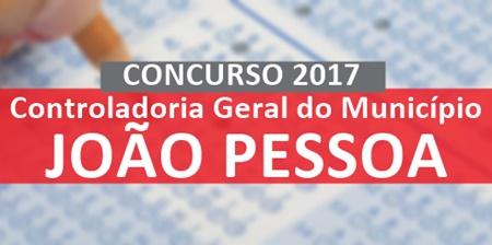 Apostila Concurso CGM João Pessoa - PB 2017