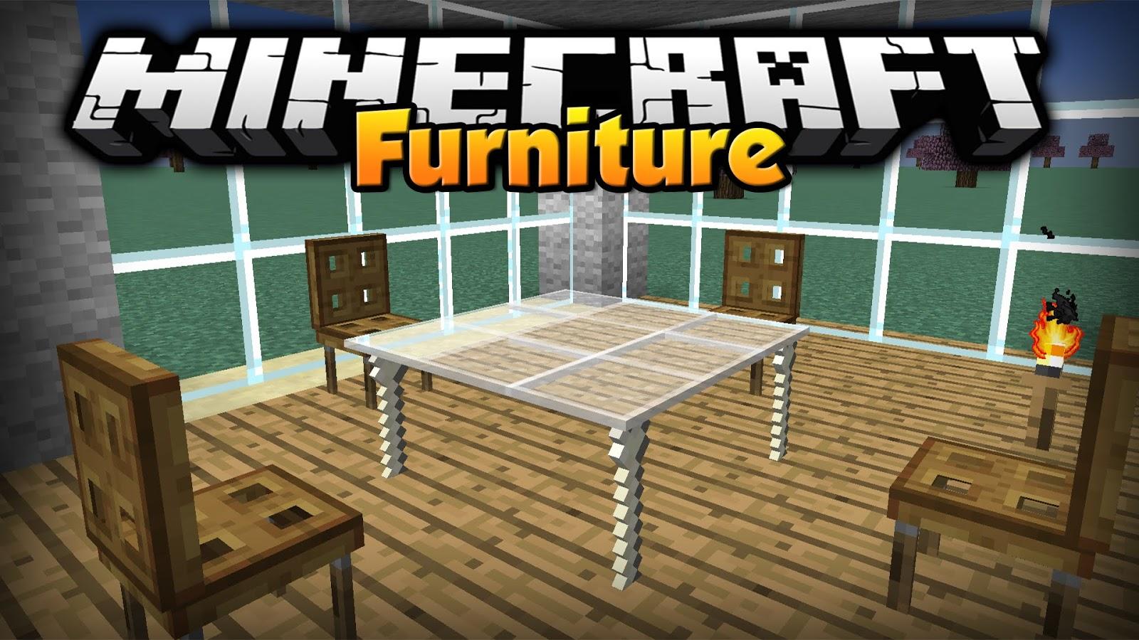 Download do mod furniture para minecraft 1 7 2 gcraftmine for Mobilia anos 40