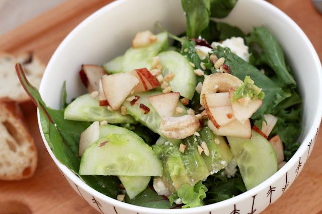 Rezepte für leckere Salate : Foodbloggerin Fleur et Fatale