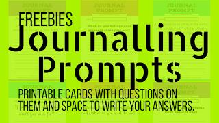 Freebies, journaling cards