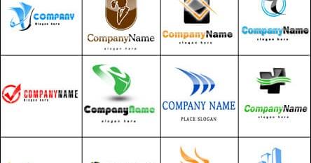 لوجو Logo فارغ لتصميم و الكتابة 15