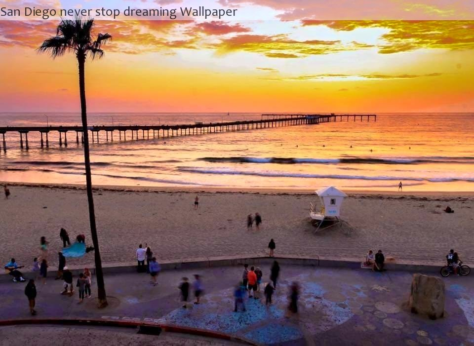 A Muse To Lose San Diego Never Stop Dreaming Wallpaper