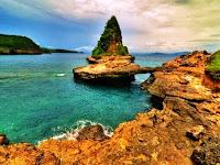 Keindahan Alam Wisata Pantai Tanjung Bloam Lombok