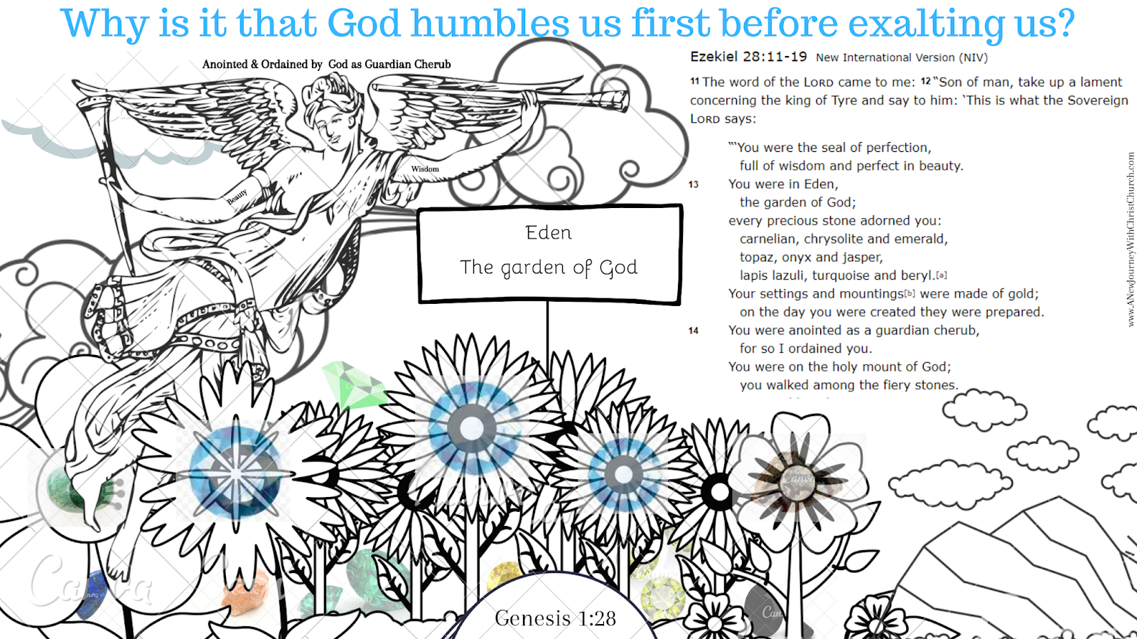 Why is that God humbles us before he exalts us?