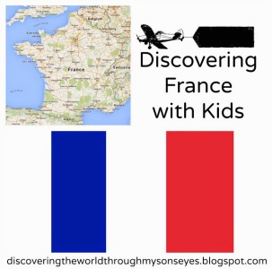 Make a French flag, as part of Around the World in 30 Days- Geography and cultural activities for toddlers and preschoolers