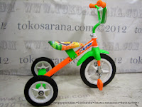 Sepeda Roda Tiga BMX Arava - Orange