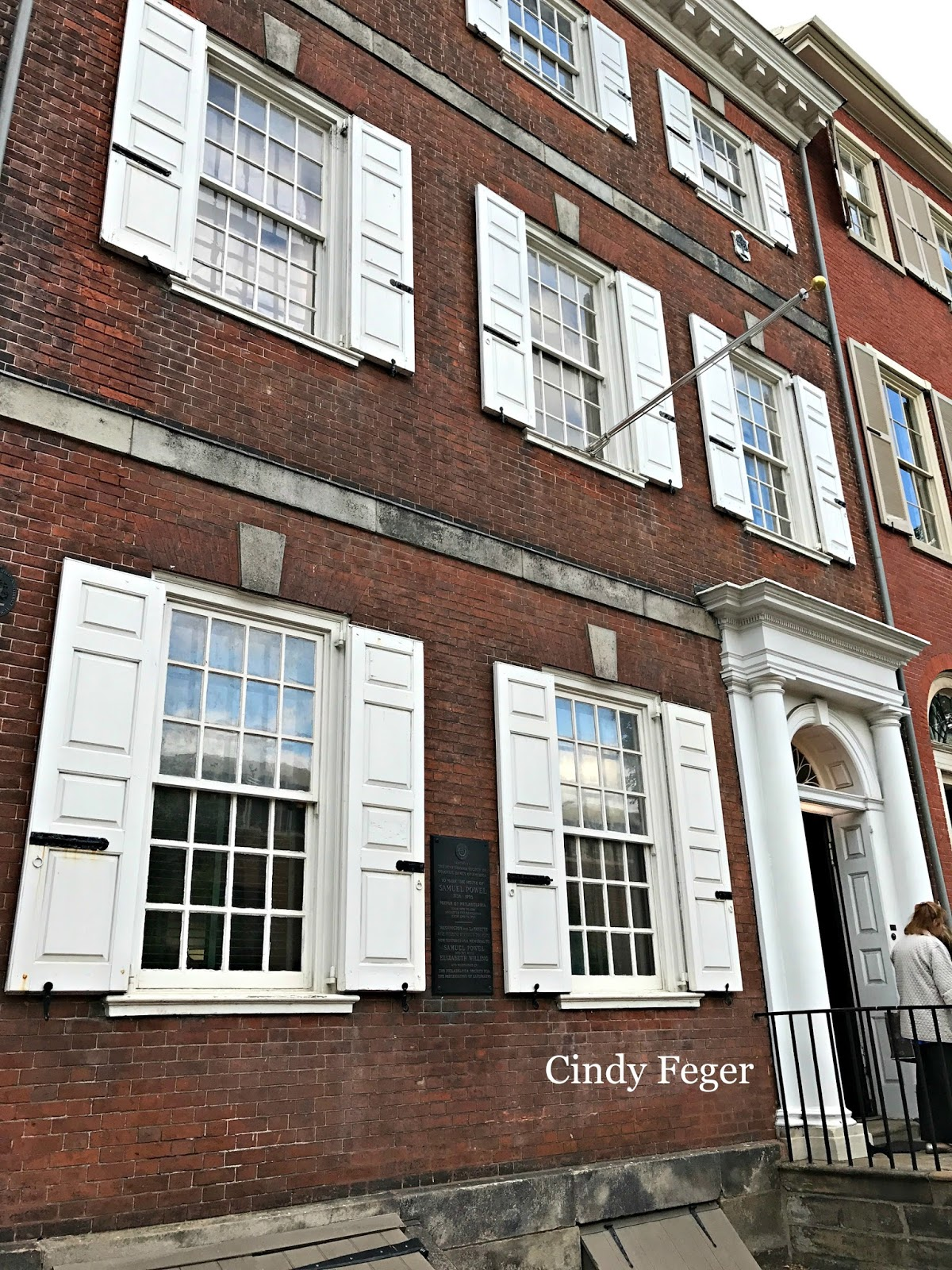 Colonial quills philadelphia 39 s powel house by cynthia for Powell house