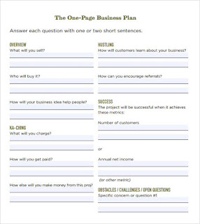business plan template word doc