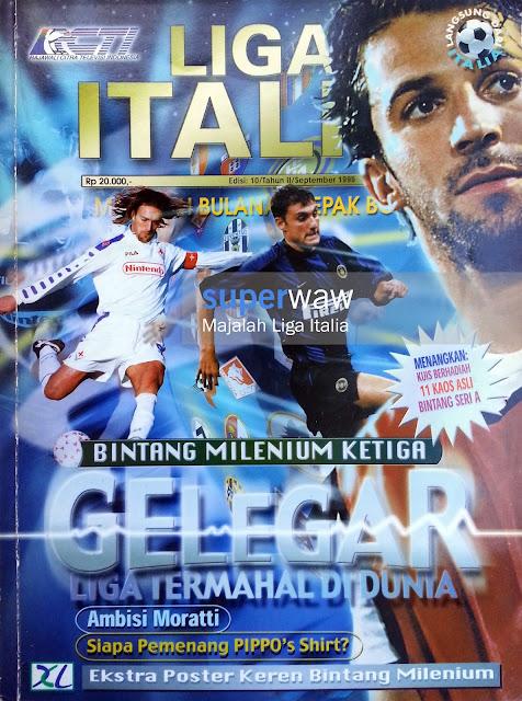 Majalah LIGA ITALIA (GELEGAR LIGA TERMAHAL DUNIA)