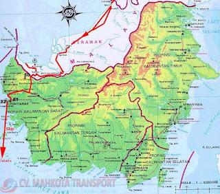 Ekspedisi Murah dari Semarang tujuan Balikpapan, Samarinda, Berau, Bontang