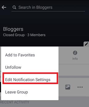 Beginilah Cara Menghentkani Notifikasi dari Grup Facebook Khusus 5