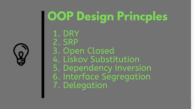 10 Object-Oriented (OOP) Design Principles Java Programmer