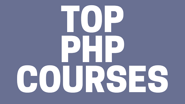 TOP PHP COURSES