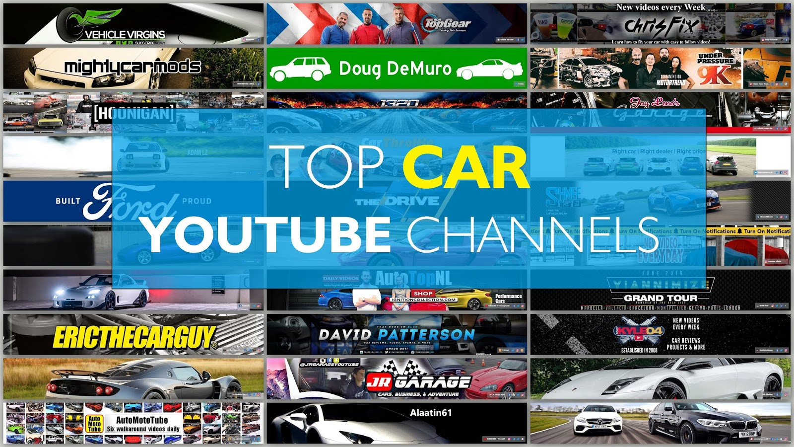 Top Car YouTube Channels Rank