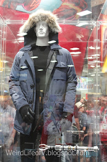Captain Cold costume display