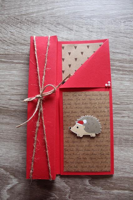 Yksinkertainen ja helppo kynttiläkortti