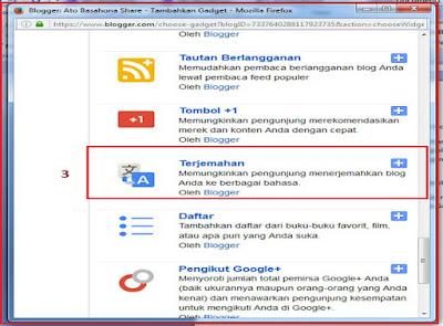 Cara Gampang Pasang Widget Translate (Terjemahan) Online Untuk Blog di Blogspot