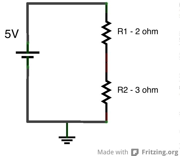 how to solve series circuit