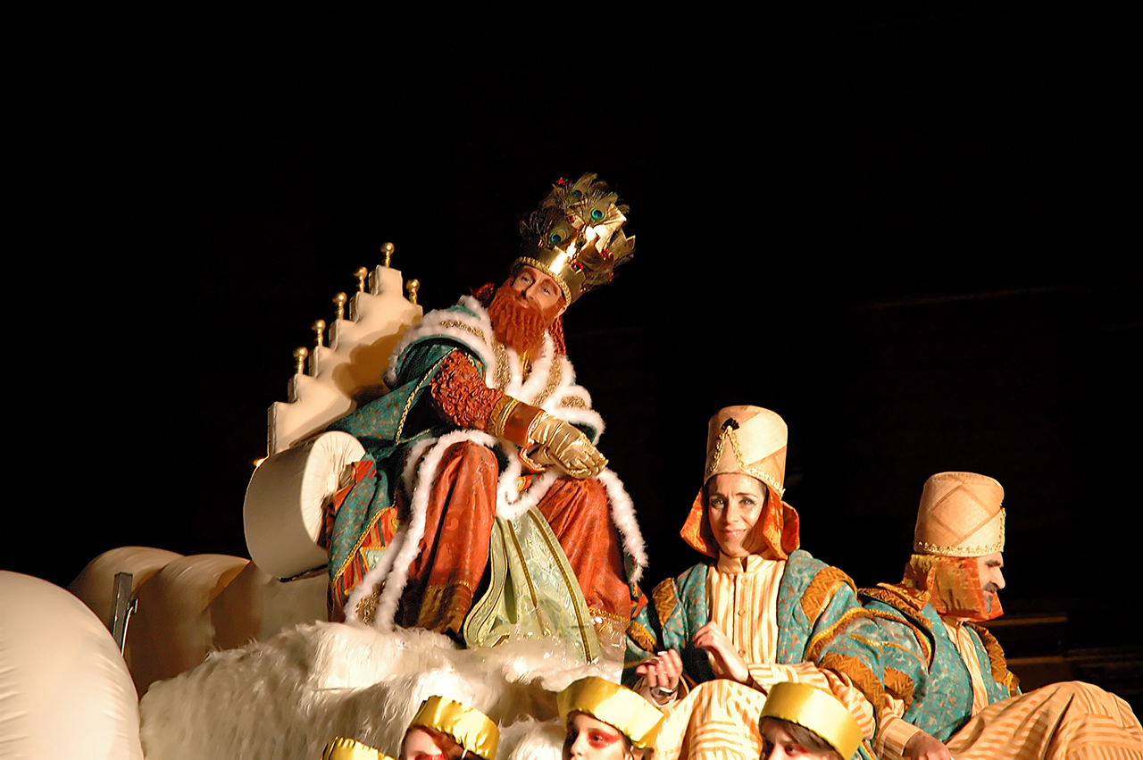 The Three Wise Men or Three Kings in Barcelona