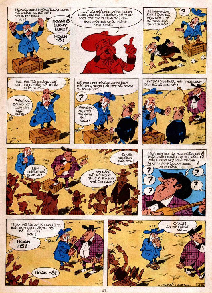 Lucky Luke tap 3 - doan lu hanh trang 42