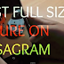 How to Put Full Size Pictures On Instagram