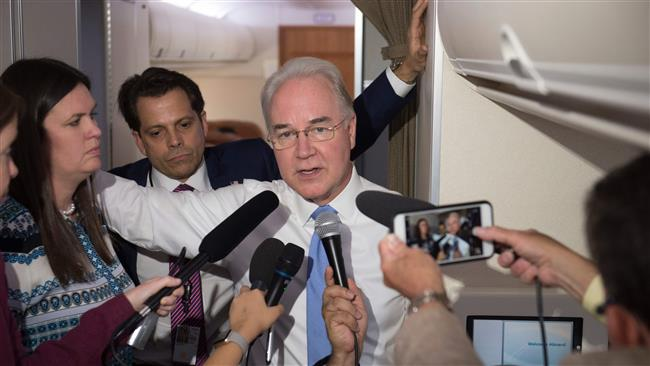 US Secretary of Health and Human Services Tom Price resigns amid scandal over his costly private flights