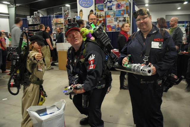 Brockville Ghostbusters. Ottawa Comiccon 2016.