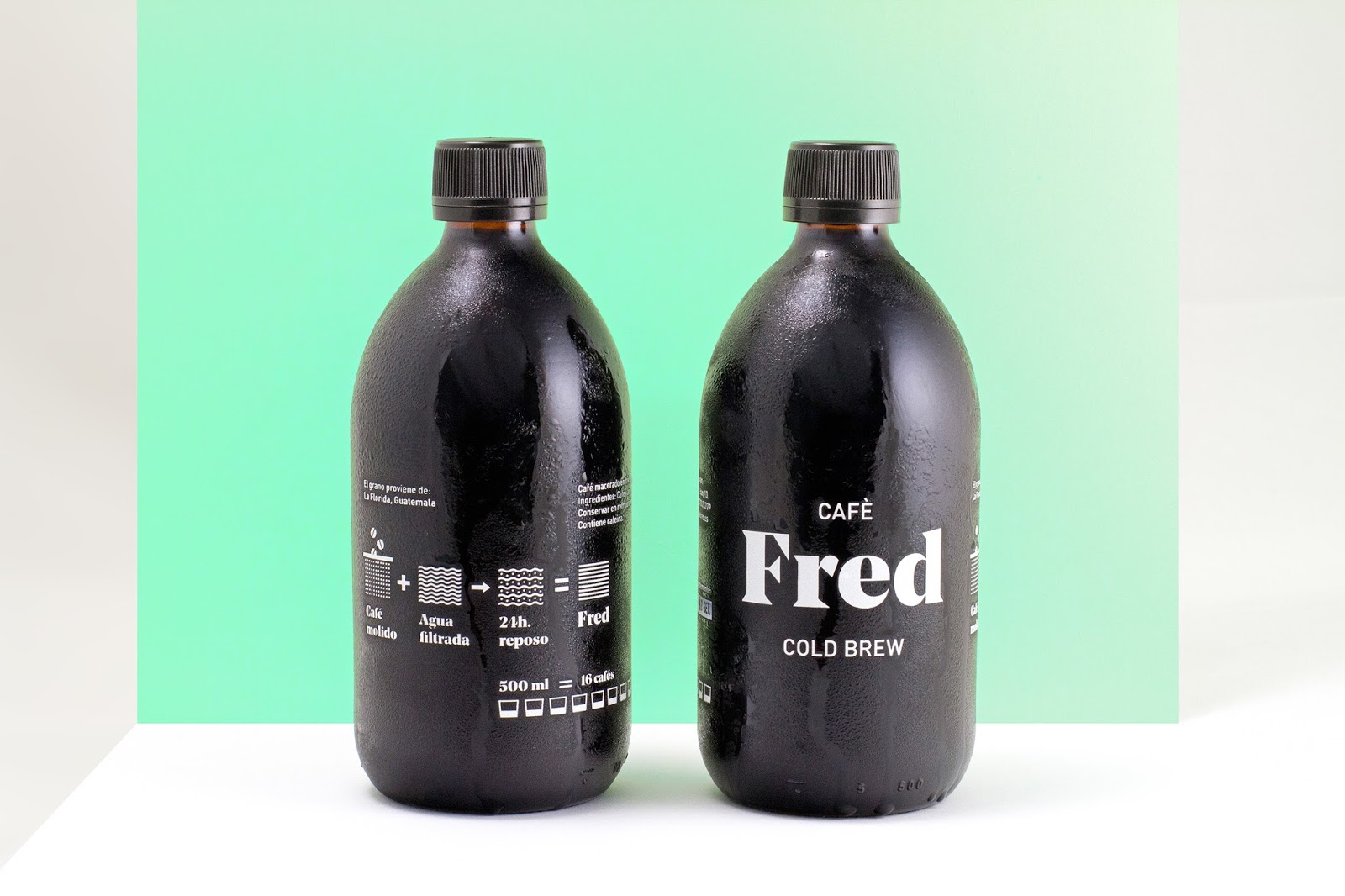 Caf 232 Fred Cold Brew On Packaging Of The World Creative
