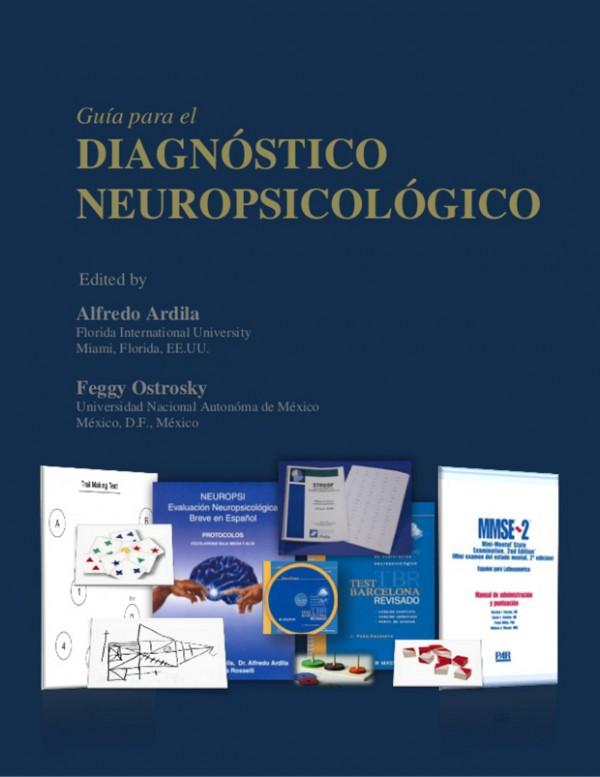 Guía para el diagnóstico neuropsicológico – Alfredo Ardila