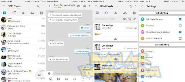 Download BBM Mod IOS Light v12 Versi 3.1.0.13 Apk Terbaru