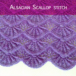 Tutorial: knitting a scalloped edge. A nice border can really make an otherwise simple project.