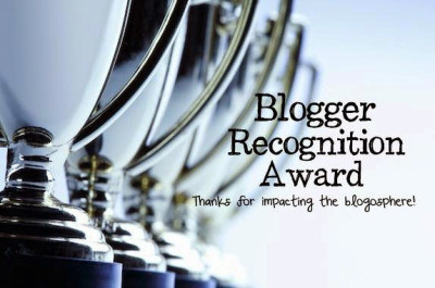 Blogger Recognition Award -tunnustus