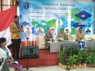 Seminar Nasional Dies Natalis GMKI Jambi Ke 69 Berjalan Sukses.