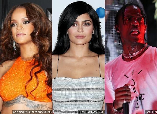 Kylie Jenner နဲ႔ Travis Scott တို႔ရဲ႕အခ်စ္ေရးကို ေဝဖန္လုိက္တဲ့ ရီဟားနား