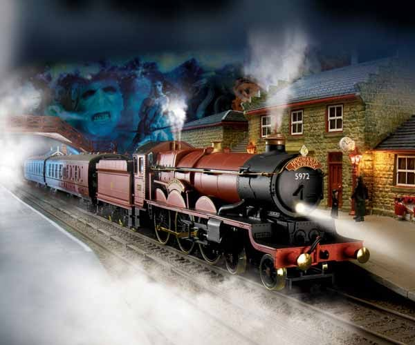 Harry Potter Hogwarts Express Bachmann Ho Electric Train