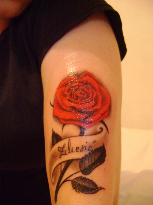 Rose Tattoos Flower: Go Classic With Your Flower Tattoo Designs