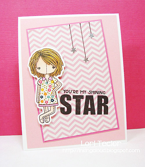 You're My Shining Star card-designed by Lori Tecler/Inking Aloud-stamps and dies from Clear and Simple Stamps