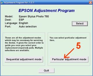 epson t60 software download
