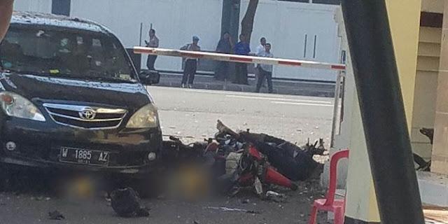 Bom Bunuh Diri Kembali Terjadi Di Polrestabes Surabaya