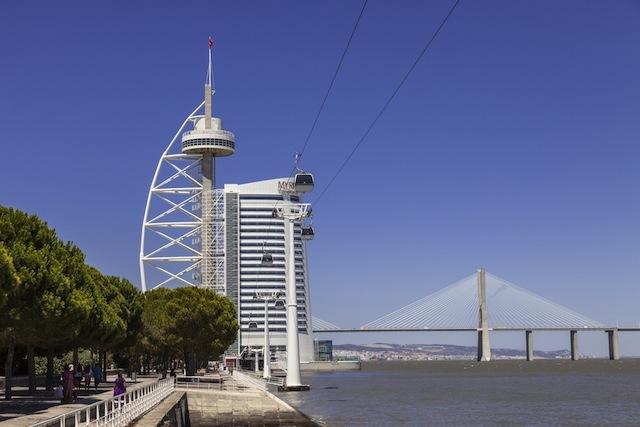 Torre Vasco da Gama em Lisboa