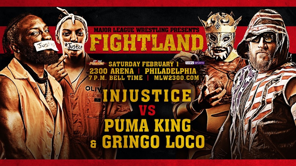 MLW anuncia mais combates para o Fightland 2020