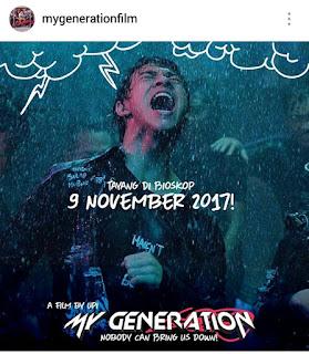 Film 'My Generation' Tentang Remaja Kritis Era Millenial Tayang 9 November 2017